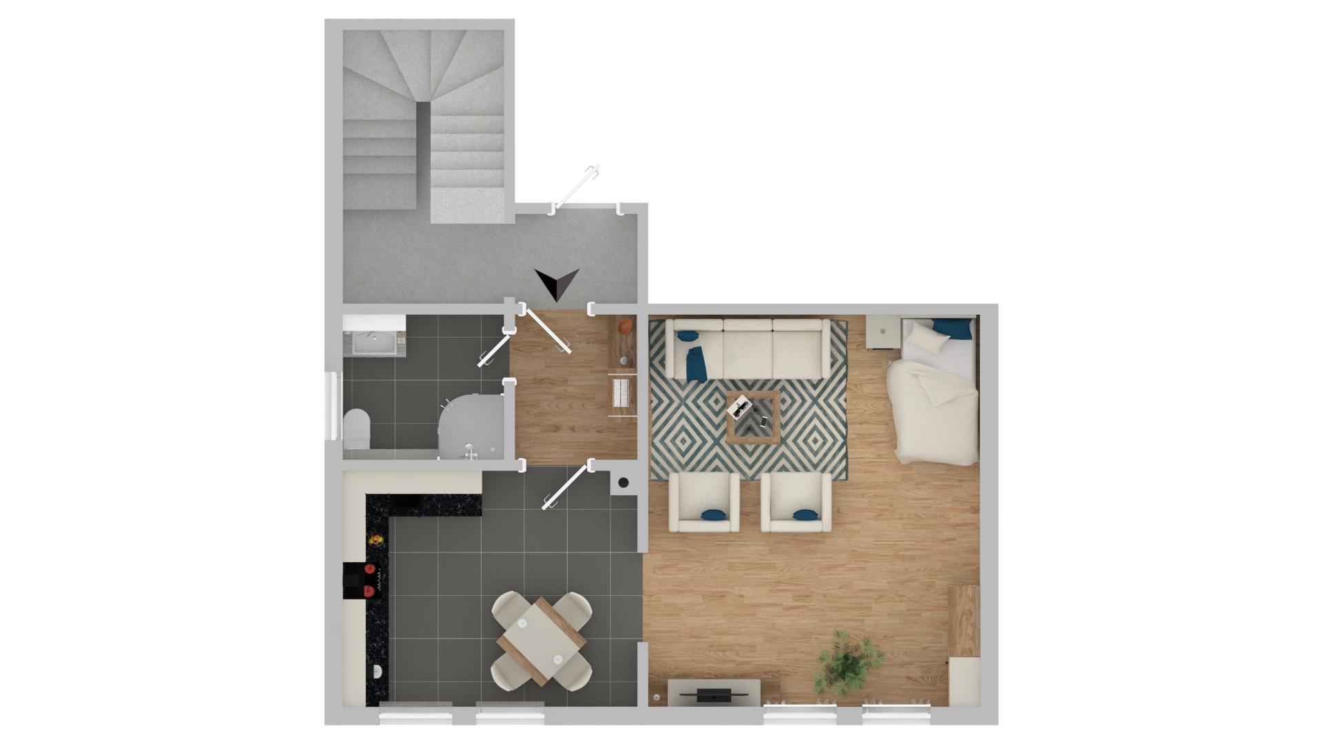 m bliertes apartment 85098 gro mehring butschal immobilien. Black Bedroom Furniture Sets. Home Design Ideas
